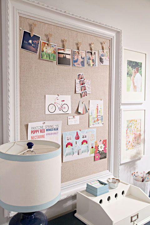 photo wall pinboard foam