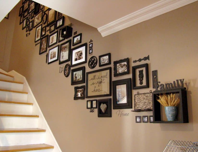stair photo wall2
