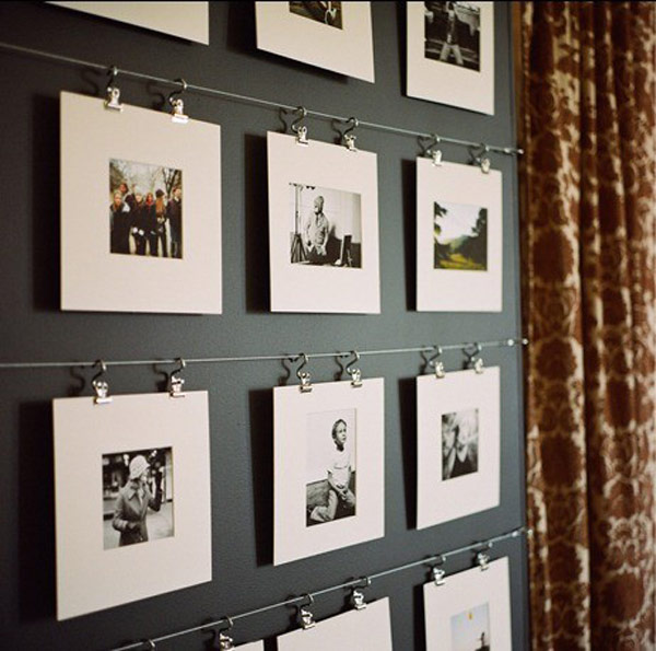 photo wall clip hangers