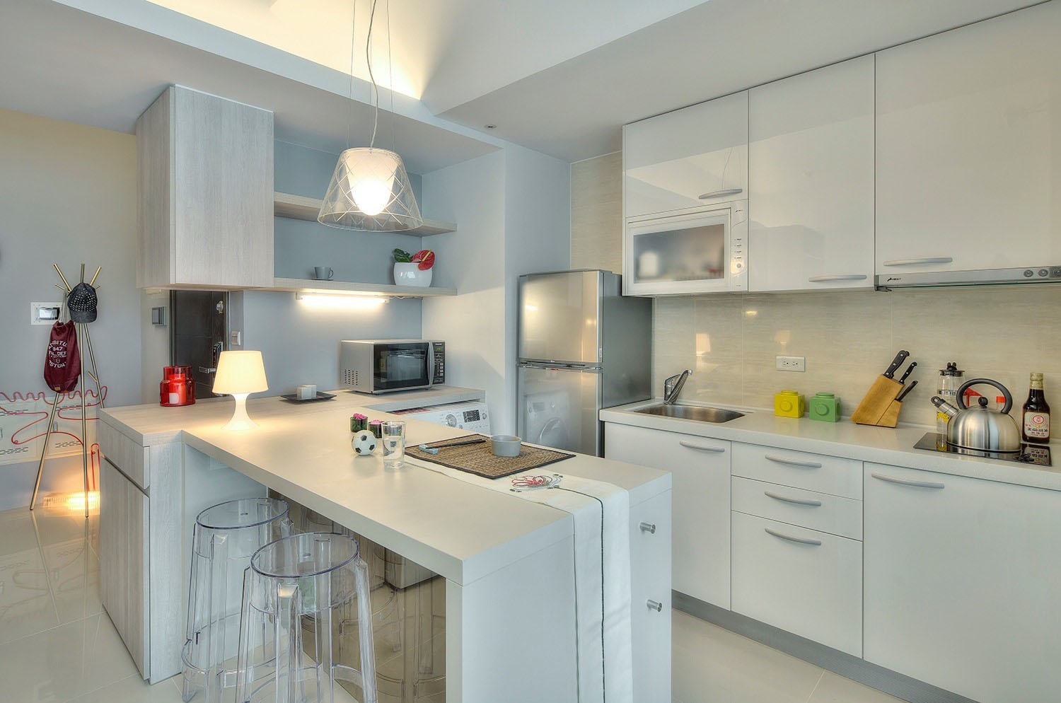 Taipei city Taiwan - Small kitchen design ideas