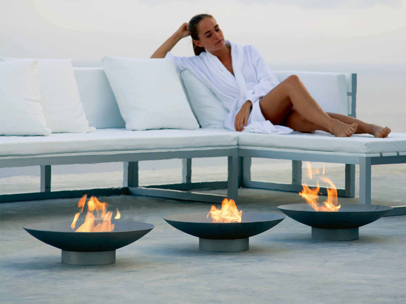 bio outdoor fireplace