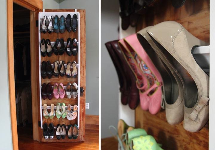 Organize your closet - shoe rack organizer