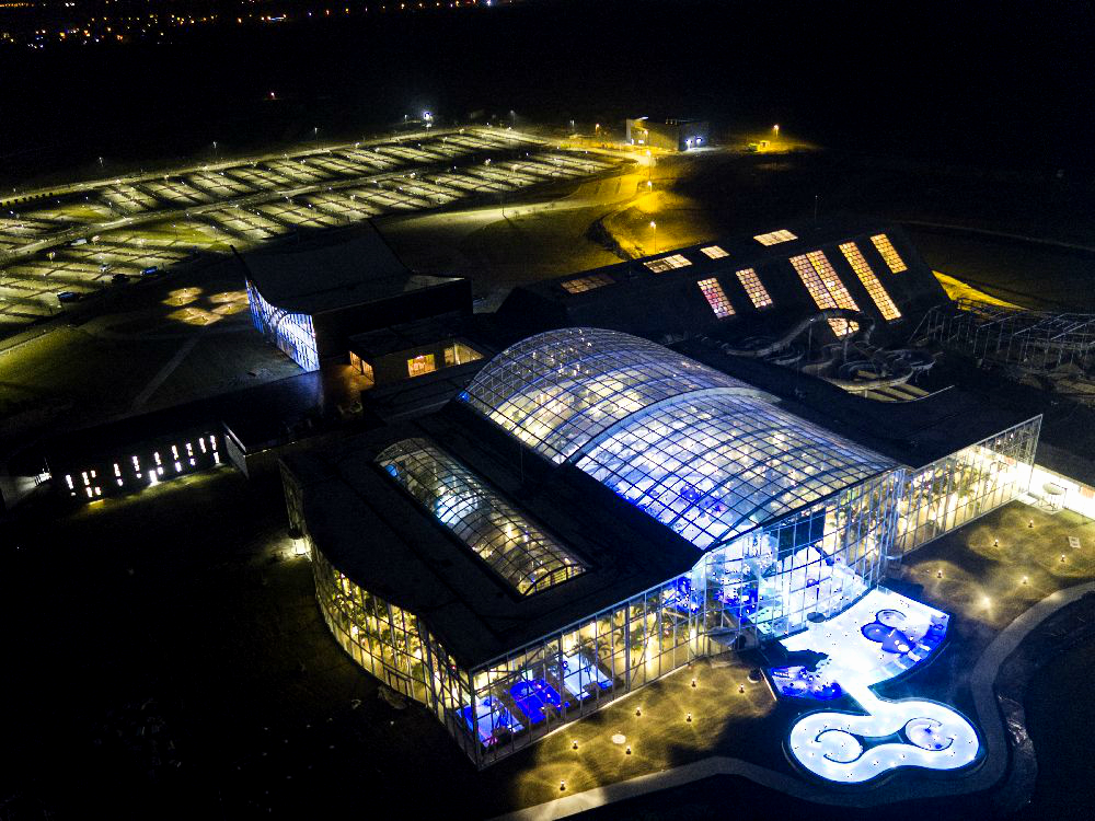 therme bucharest aerial