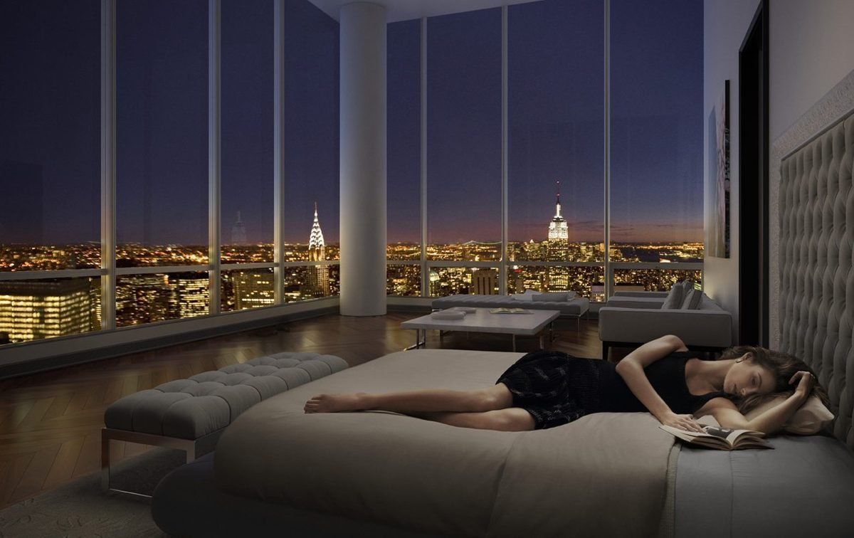 This is What a 100 Million $ Penthouse from New York Looks Like